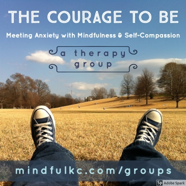 Courage to Be Anxiety Group